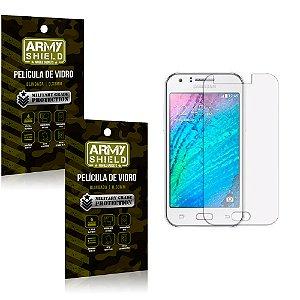 Kit 2 Películas de Vidro Samsung j3 2015 - Armyshield