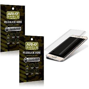 Kit 2 Películas de Vidro Curvada Samsung s7 edge - Armyshield