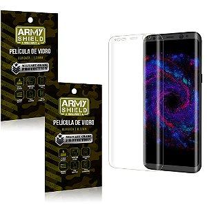 Kit 2 Películas de Vidro Curvada Samsung S8 - Armyshield