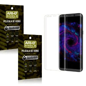 Kit 2 Películas de Vidro Curvada Samsung S8 Plus - Armyshield