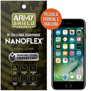 Película NanoFlex [FRONTAL E TRASEIRA] Apple iPhone 7  - Armyshield