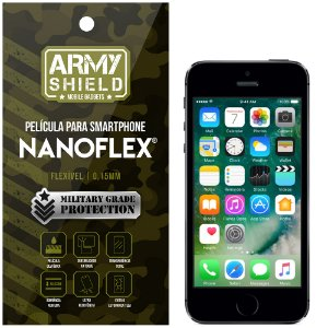 Película NanoFlex [FRONTAL] Apple iPhone 5 - 5S - 5SE  - Armyshield