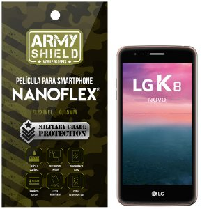 Película NanoFlex [FRONTAL] LG K8 Novo  - Armyshield