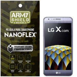 Película NanoFlex [FRONTAL] LG X Cam  - Armyshield