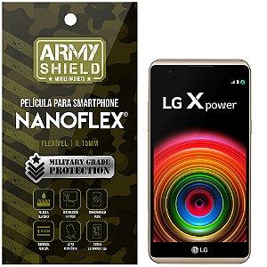 Película NanoFlex [FRONTAL] LG X Power  - Armyshield