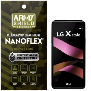 Película NanoFlex [FRONTAL] LG X Style  - Armyshield