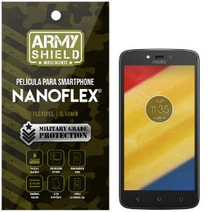 Película NanoFlex [FRONTAL] Motorola C Plus  - Armyshield