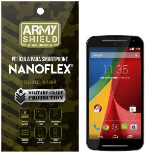 Película NanoFlex [FRONTAL] Motorola Moto G2  - Armyshield