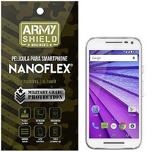 Película NanoFlex [FRONTAL] Motorola Moto G3  - Armyshield