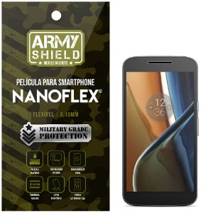 Película NanoFlex [FRONTAL] Motorola Moto G4  - Armyshield