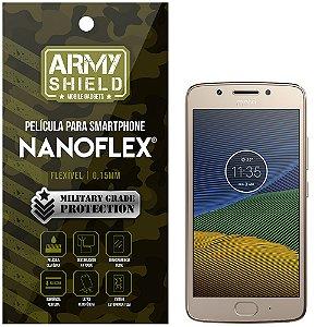Película NanoFlex [FRONTAL] Motorola Moto G5  - Armyshield