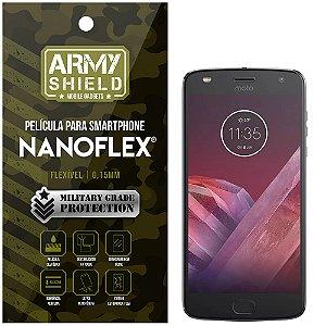 Película NanoFlex [FRONTAL] Motorola Moto Z2 Play  - Armyshield