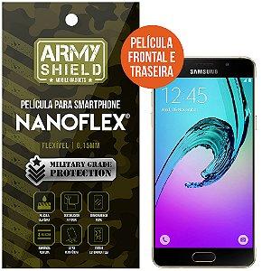 Película NanoFlex [FRONTAL E TRASEIRA] Samsung Galaxy A7 (2016)  - Armyshield