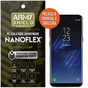 Película NanoFlex [FRONTAL E TRASEIRA] Samsung Galaxy S8  - Armyshield