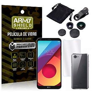 Kit Fisheye LG Q6 / Q6 Plus M700TV 5.5 Lentes + Película + Capa - Armyshield