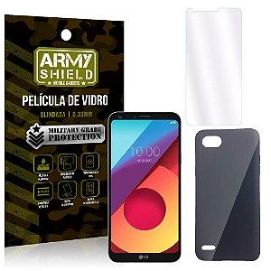Kit Capa Fumê LG Q6 / Q6 Plus M700TV 5.5 Película + Capa Fumê - Armyshield