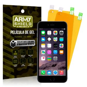 Kit 2 Películas de Gel Apple iPhone 6 Plus - 6S Plus - Armyshield