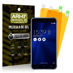 Kit 2 Películas de Gel Asus Zenfone 3 ZE552KL 5.5 - Armyshield