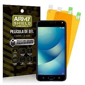 Kit 2 Películas de Gel Asus Zenfone 4 Max ZC554KL 5.5 - Armyshield