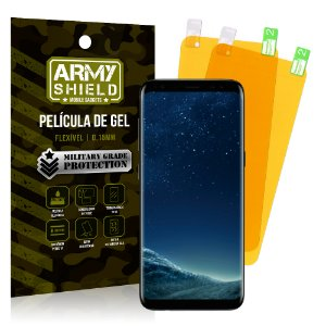 Kit 2 Películas de Gel Samsung Galaxy S8 - Armyshield