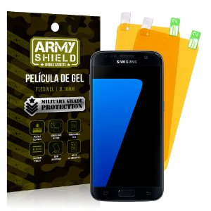Kit 2 Películas de Gel Samsung Galaxy S7 Edge - Armyshield