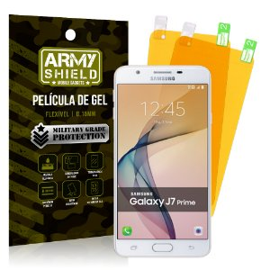 Kit 2 Películas de Gel Samsung Galaxy J7 Prime - Armyshield