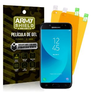 Kit 2 Películas de Gel Samsung Galaxy J7 Pro - Armyshield