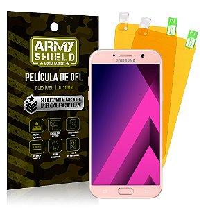 Kit 2 Películas de Gel Samsung Galaxy A7 2017 - Armyshield