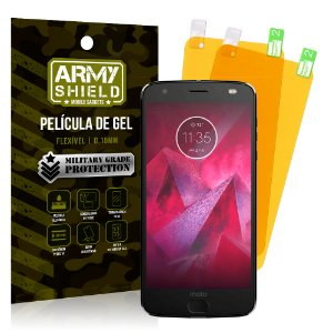 Kit 2 Películas de Gel Motorola Moto Z2 Play - Armyshield