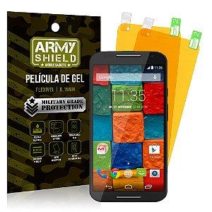 Kit 2 Películas de Gel Motorola Moto X 2 - Armyshield