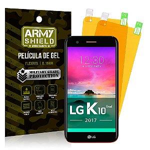 Kit 2 Películas de Gel LG K10 2017 - Armyshield