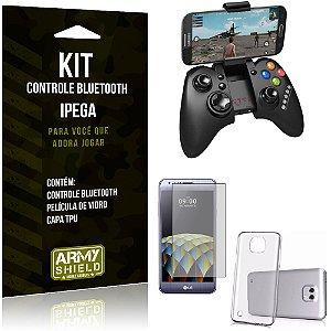 Kit Controle Bluetooth LG X Cam Controle + Película + Capa - Armyshield