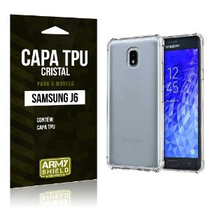 Capa Silicone TPU Samsung J6 2018 - Armyshield