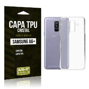 Capa Silicone TPU Samsung A6 Plus - Armyshield