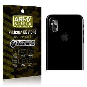 Película de Lente Anti Risco Apple Iphone X - Armyshield