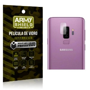 Película de Lente Anti Risco Samsung S9 Plus - Armyshield