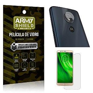 Kit Película de Lente Anti Risco + Película de Vidro Motorola Moto G6 Play - Armyshield