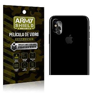 Película de Lente da Câmera Anti Risco Apple Iphone X - Armyshield