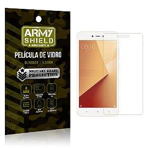 Película de Vidro Blindada Xiaomi Redmi Note 5A - Armyshield