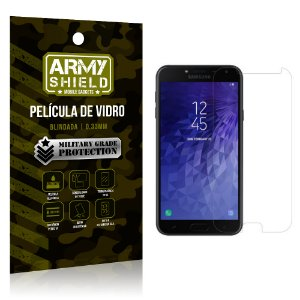 Película de Vidro Blindada Samsung J4 - Armyshield