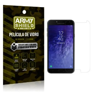 Película de Vidro Blindada Samsung J6 - Armyshield