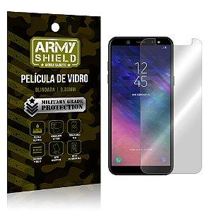 Película de Vidro Blindada Samsung A6 - Armyshield