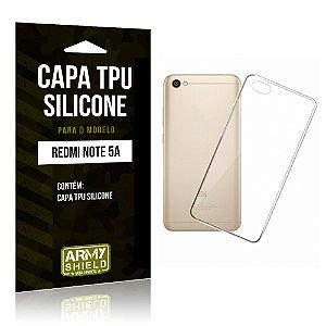 Capa Silicone Xiaomi Redmi Note 5A - Armyshield