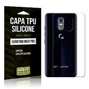 Capa Silicone Quantum Muv Pro - Armyshield