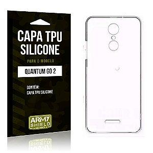 Capa Silicone Quantum Go 2 - Armyshield