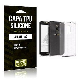 Capa Silicone Alcatel A7 - Armyshield