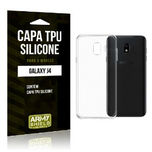 Capa Silicone Samsung J4 - Armyshield