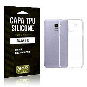 Capa Silicone Samsung J6 - Armyshield