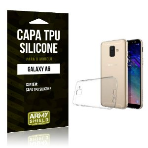 Capa Silicone Samsung A6 - Armyshield