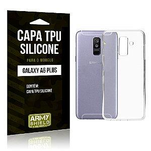 Capa Silicone Samsung A6 Plus - Armyshield